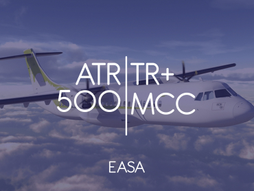 ATR 500 Type Rating + MCC - EASA