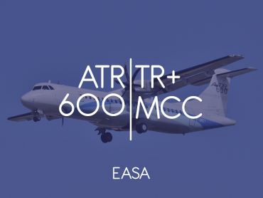 ATR 600 MCC + Type Rating - EASA