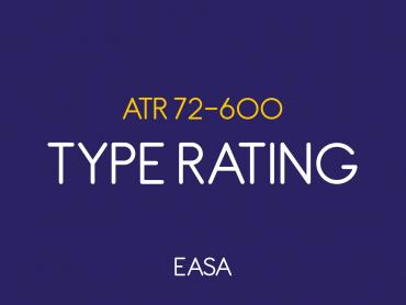 ATR 600 Type Rating (EASA)