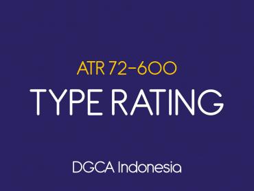 ATR600 Type Rating - DGCA Indonesia