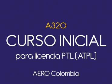 Curso inicial A320 para licencia PTL (ATPL)