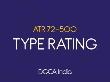 ATR 500 Type Rating DGCA India