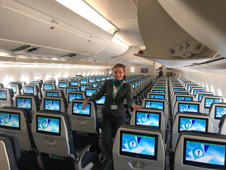 Cris Cerezo Auxiliar de vuelo Global Training Aviation GTA