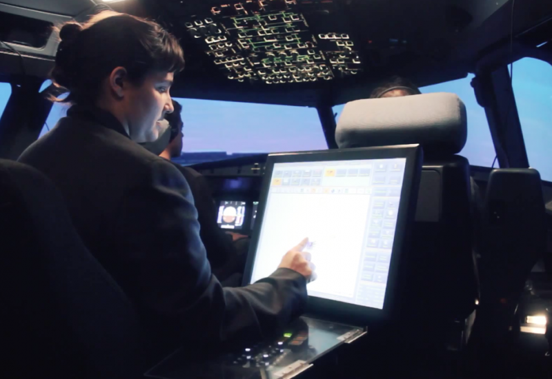 A320 full flight simulator