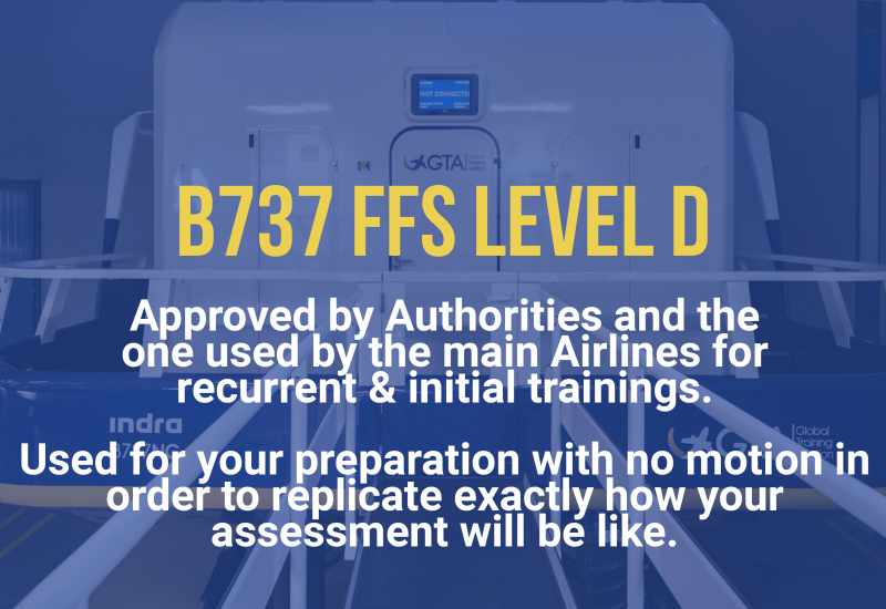 B737 FFS Level D